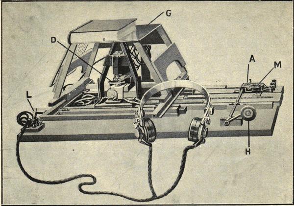 Optophone by Dr Edmund Fournier d'Albe